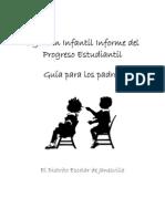 K Progreso Escolar Kinder