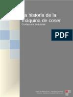 1. La Historia de La Maquina de Coser