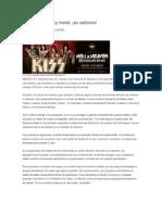 Juan Pablo Proal- ART -Prohíban el heavy metal- Es satánico