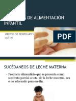 FÓRMULAS DE ALIMENTACIÓN INFANTIL VR