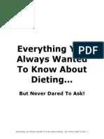 Dieting Wisdom
