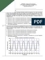 Lista de Exercicios 1 Rev 0 ASD SDV 2014