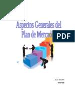 Plan de Mercado o Plan d Marketing