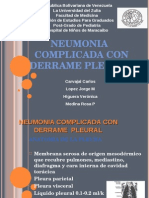 Neumonia Complicada Con Derrame Pleural
