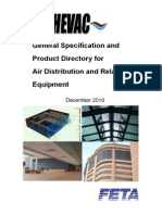 Air Distribution System Specification Guide