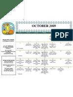 PWC Calendar 200910