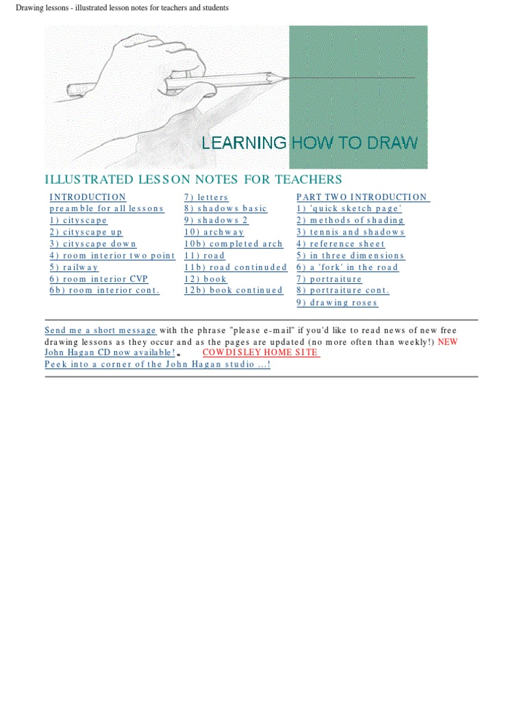 Illustrated lesson notes for teachers send me a short message john hagan cd now available