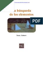 Asimov, Isaac - La Busqueda de Los Elementos