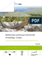 Biodiversity monitoring in the Kornati archipelago, Croatia