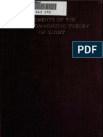 Ludwik Silberstein - Elements of the Electromagnetic Theory of Light-(1918)