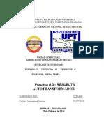 P5 AUTOTRANSFORMADOR - RESUELTA