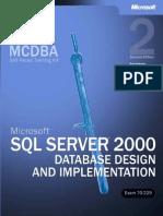 MCDBA-MCAD-MCSE-70-229-Microsoft SQL Server 2000 Database Design and Implementation
