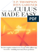 Thompson, Gardner Calculus Made Easy