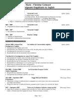 french teacher resume website