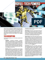 Power Profile - Tech Powers