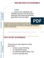 The Scope and Methods of Economics(2)