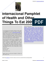 Internacional pamphlet health and other things to eat 2009 1 17-oct-2009