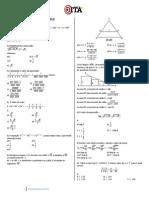 493 Simulado Ita Folia Matematica 2012