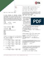 542 Simulado Semanal 07 Matematica Ita 2012