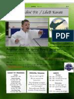Spring Karate Poster 2014