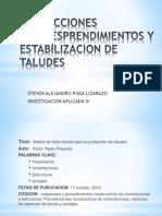 Antecedentes Tesis Articulo de Estabilizacion de Taludes