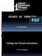 Crimes de Trânsito e LAI - Morishita.PPT