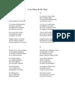 Poema de Los Ninos