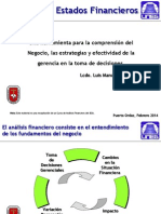 Analisis Financiero Actualizado  2012