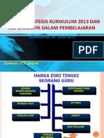 Dimensi Strategis kurikulum-2013