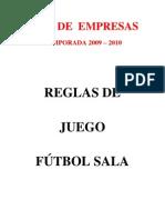 Reglamento Liga de Empresa de F.S. - A CORUÑA