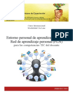 Folleto Entorno Personal de Aprendizaje PLE CIESI