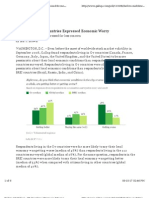 Gallup G7 Concerns About Economy