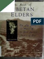 The Book of Tibetan Elders SANDY JOHNSON 1996edition