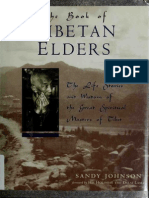 The Book of Tibetan Elders SANDY JOHNSON 1996edition