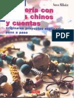 Bisuteria Con Nudos Chinos Y Cuentas
