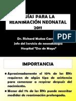 Reanimación Neonatal- Dr. Munoz