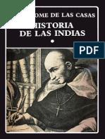 De Las Casas, Bartolomé (1986) HISTORIA DE LAS INDIAS I, Caracas, Biblioteca Ayacucho