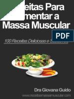 Receitas Ganho de Massa Muscular