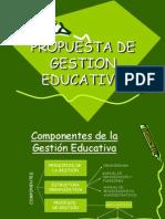 Propuesta de Gestion Educativa