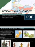 Expo Medievalismo Renacimiento