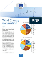 Technology Information Sheet - Wind Energy Generation