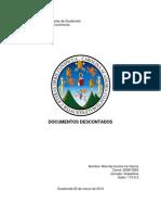 Documentos Descontados