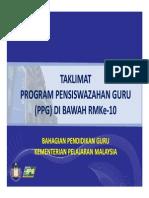 Powerpoint Taklimat PPG Ke2 2012 EDIT
