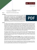 CBE-Tsc Recommendation University Drive Improvements.2009.1012.Signed