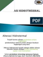 ALTERASI HIDROTHERMAL