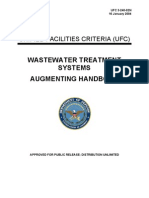 UFC 3-240-02N Waste Water Treatment System Augmenting Handbook (01!16!2004)