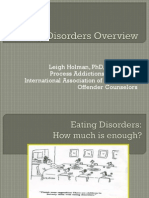 eating disorders etiology