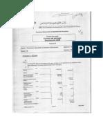 Corrigé de l'Examen de Passage 2008 TSGE Pratique Variante 6