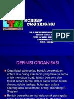 Konsep Organisasi Dan Manajemen