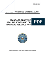 UFC 3-250-08FA Standard Practice for Sealing Joints and Cracks in Rigid and Flexible Pavements (01!16!2004)